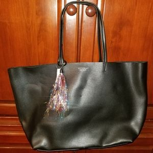 Victoria secret leather tote
